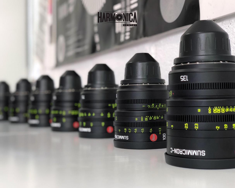 Alquiler lentes Leica Summicron-C