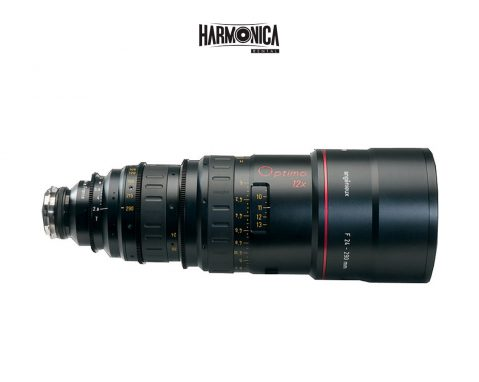 Zoom anamorfico Angenieux 48-580 mm.