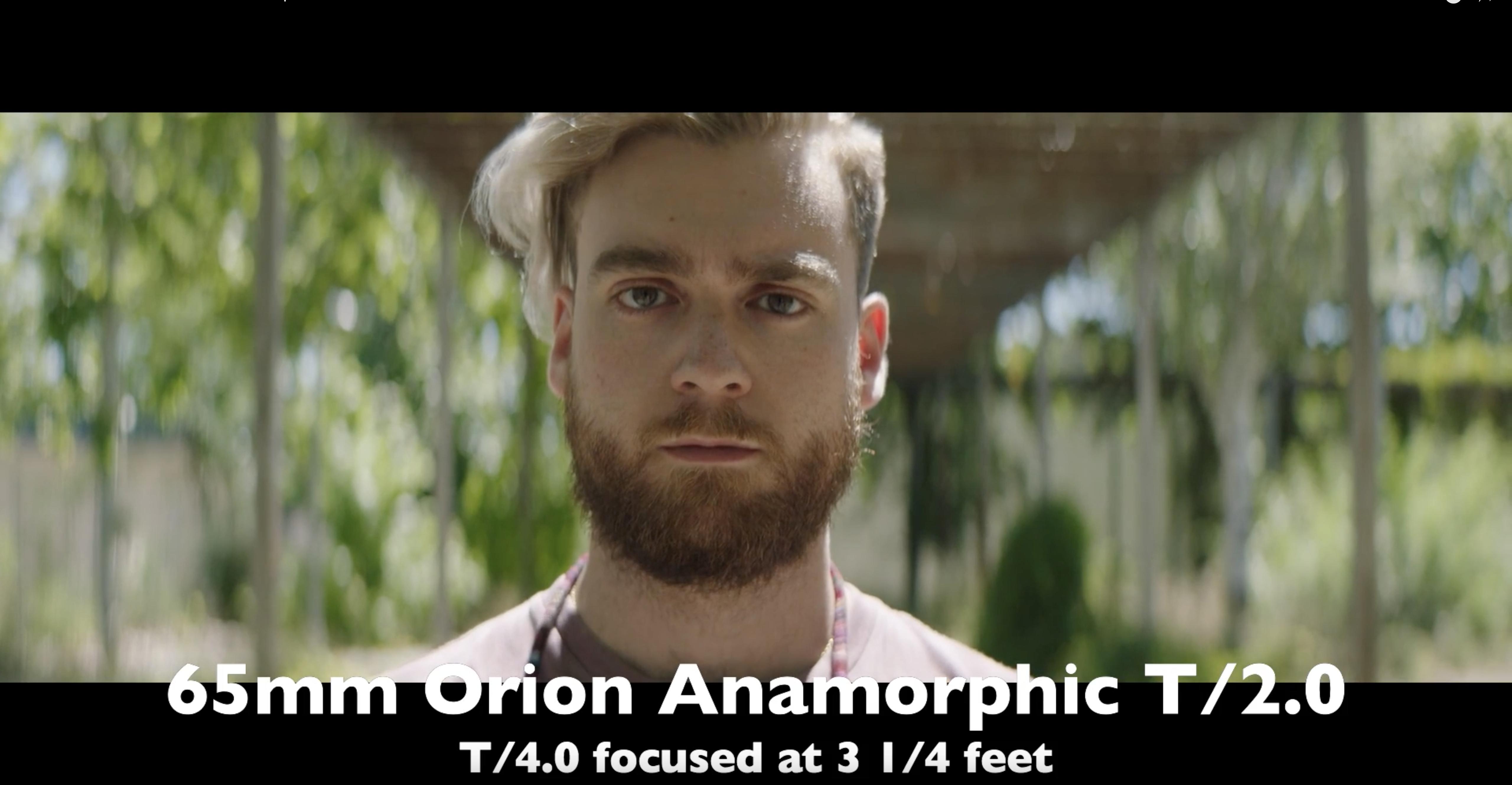 Lens Test Atlas Lens Co Orion Anamorphic Lenses